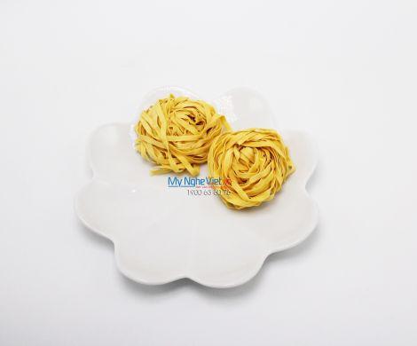 Đĩa hoa tròn trắng nhỏ MNV-BA34-1
