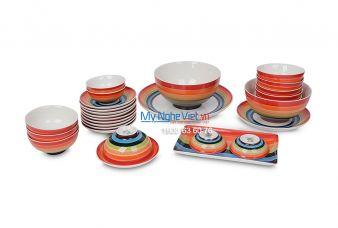 Bộ bàn ăn cầu vòng