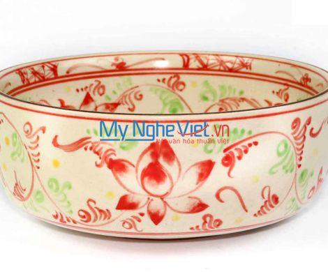 Tô mỳ vẽ chuồn khoai xanh MNV-BOA08-2